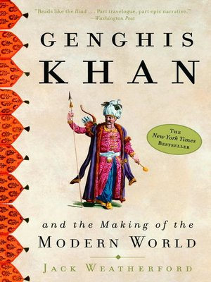 cover image of Genghis Khan and the Making of the Modern World