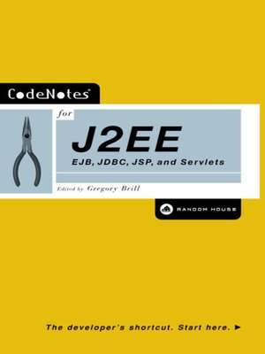 cover image of CodeNotes® for J2EE