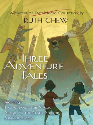 cover image of Three Adventure Tales
