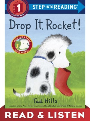 cover image of Drop It, Rocket!