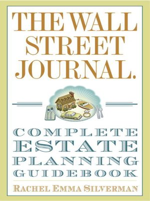 cover image of The Wall Street Journal Complete Estate-Planning Guidebook