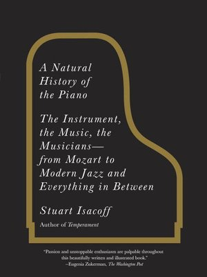 cover image of A Natural History of the Piano