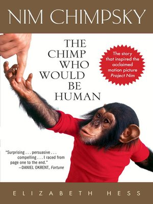 cover image of Nim Chimpsky