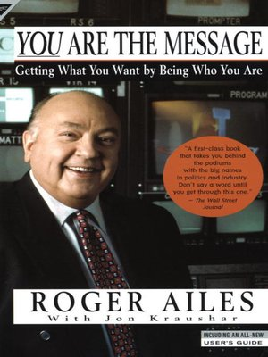cover image of You Are the Message