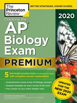 cover image of Cracking the AP Biology Exam 2020, Premium Edition