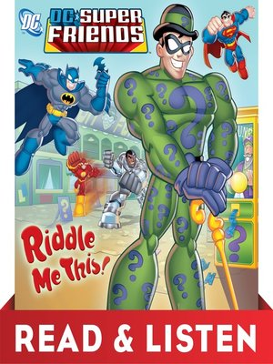 cover image of Riddle Me This!