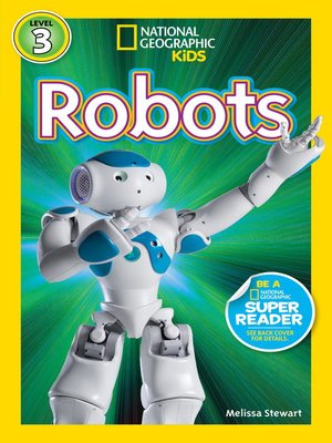 cover image of National Geographic Readers: Robots