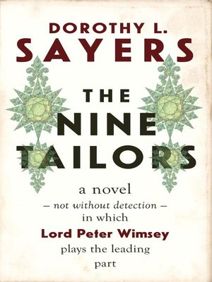 cover image of The Nine Tailors