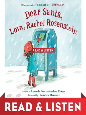cover image of Dear Santa, Love, Rachel Rosenstein