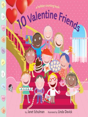 cover image of 10 Valentine Friends
