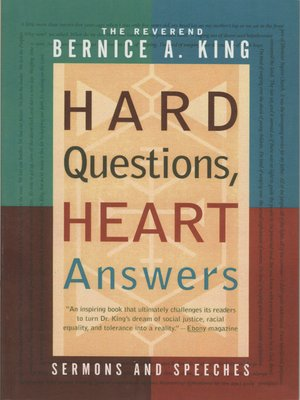 cover image of Hard Questions, Heart Answers
