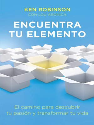 cover image of Encuentra tu elemento