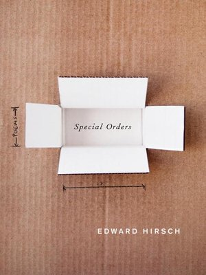 cover image of Special Orders