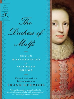 cover image of The Duchess of Malfi