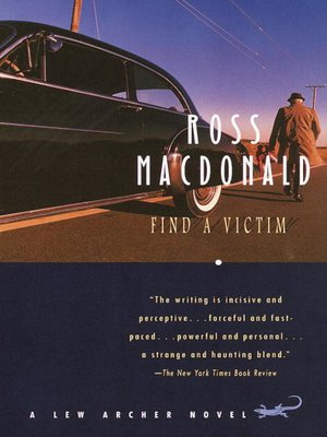 cover image of Find a Victim