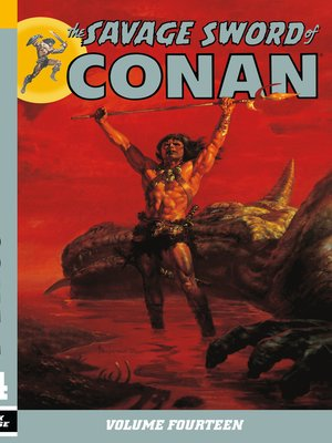 cover image of The Savage Sword of Conan, Volume 14