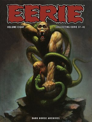 cover image of Eerie Archives, Volume 8