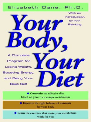 cover image of Your Body, Your Diet