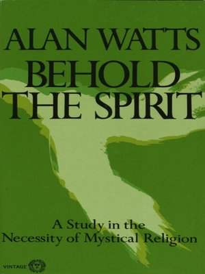 cover image of Behold the Spirit