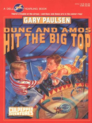 cover image of Dunc and Amos Hit the Big Top