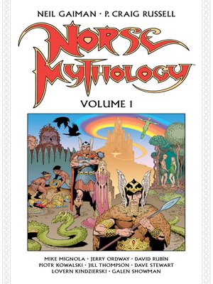 cover image of Norse Mythology Volume 1