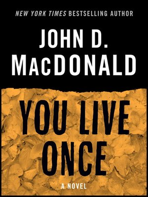cover image of You Live Once