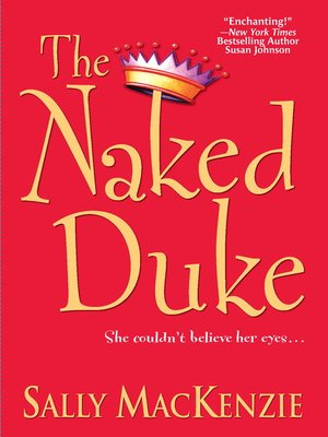 cover image of The Naked Duke