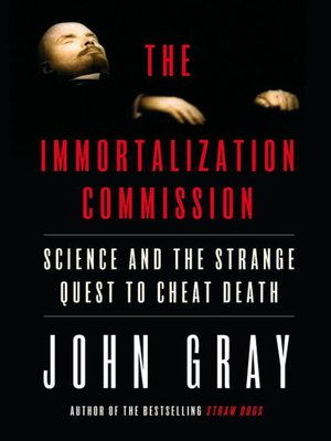 cover image of The Immortalization Commission