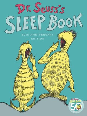 cover image of Dr. Seuss's Sleep Book