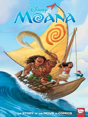 cover image of Disney Moana