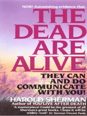 cover image of The Dead Are Alive