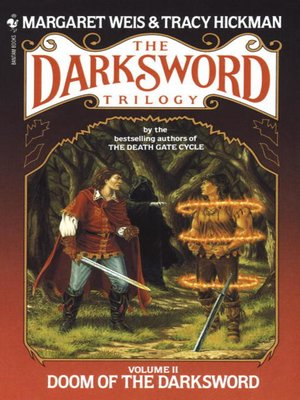 cover image of Doom of the Darksword