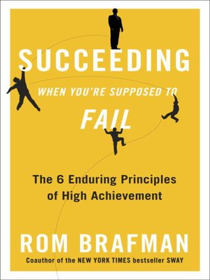 cover image of Succeeding When You're Supposed to Fail