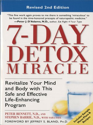 cover image of 7-Day Detox Miracle