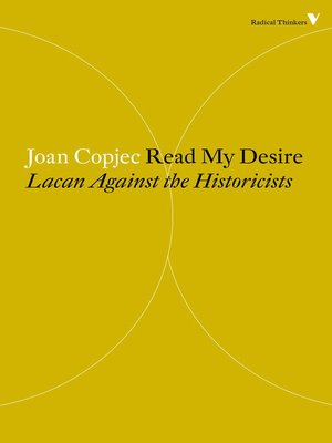 cover image of Read My Desire