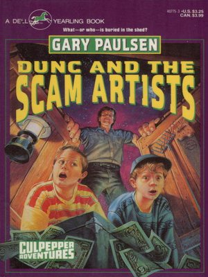 cover image of Dunc and the Scam Artists