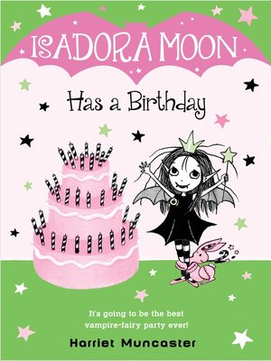 cover image of Isadora Moon Has a Birthday