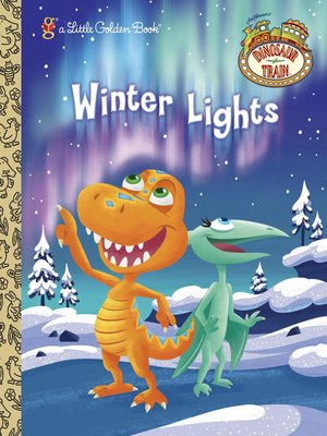 cover image of Winter Lights (Dinosaur Train)