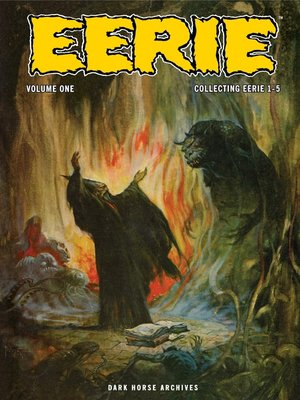 cover image of Eerie Archives, Volume 1