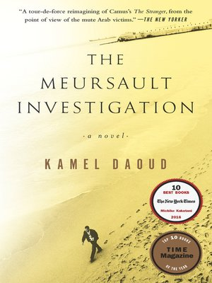cover image of The Meursault Investigation