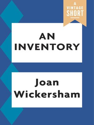 cover image of An Inventory