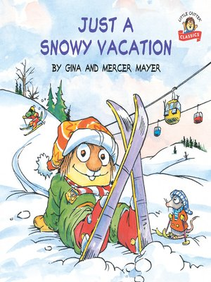 cover image of Just a Snowy Vacation