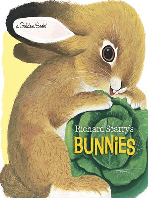 cover image of Richard Scarry's Bunnies