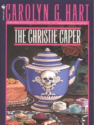 cover image of The Christie Caper