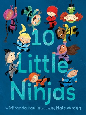 cover image of 10 Little Ninjas