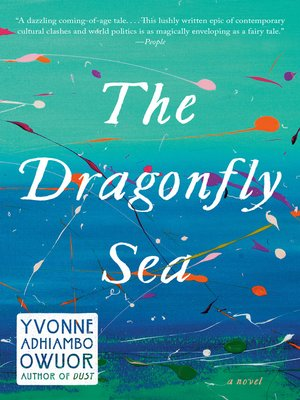 cover image of The Dragonfly Sea