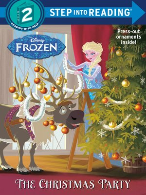 cover image of The Christmas Party (Disney Frozen)