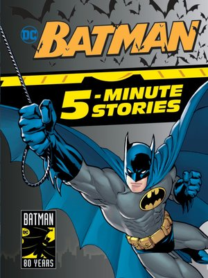 cover image of Batman 5-Minute Stories