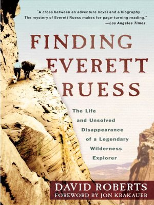 cover image of Finding Everett Ruess