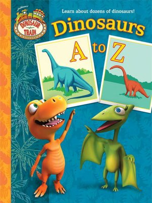 cover image of Dinosaurs a to Z